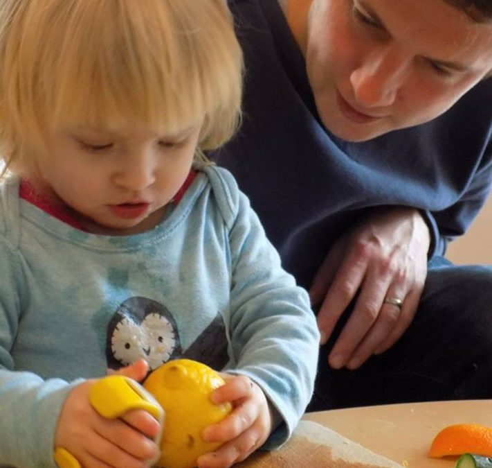 A Bristol Childminder's Research: Autonomy with Food